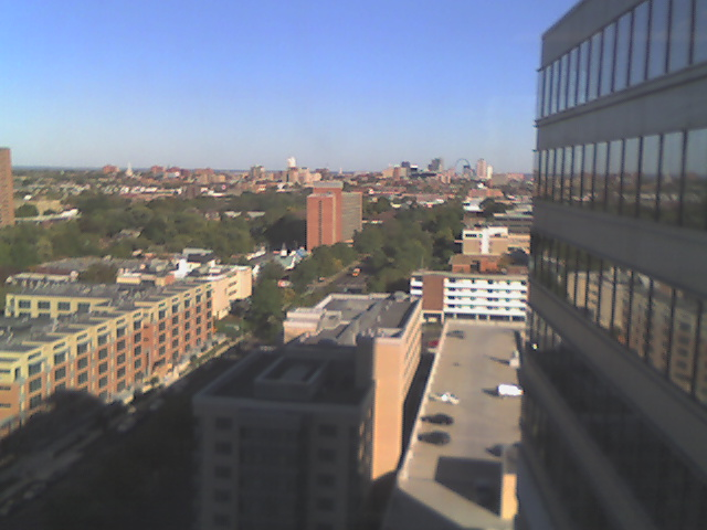 East view from the Diabetes Center