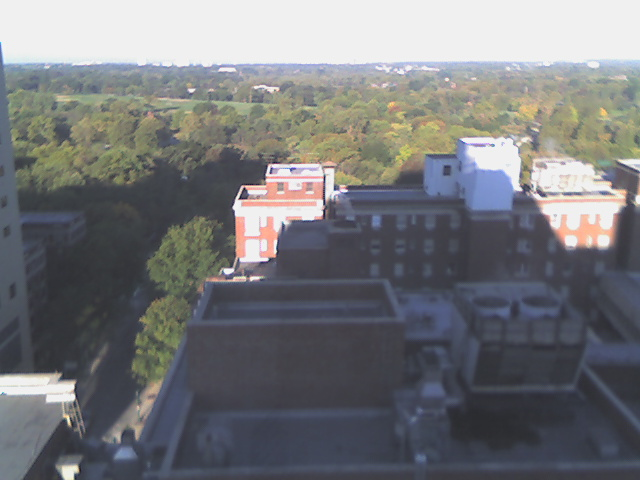 West view from the Diabetes Center